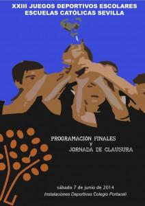 Cartel Finales 2014