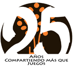 Logo lema 25 AÑOS JUEGOS ESCOLARES 2 web