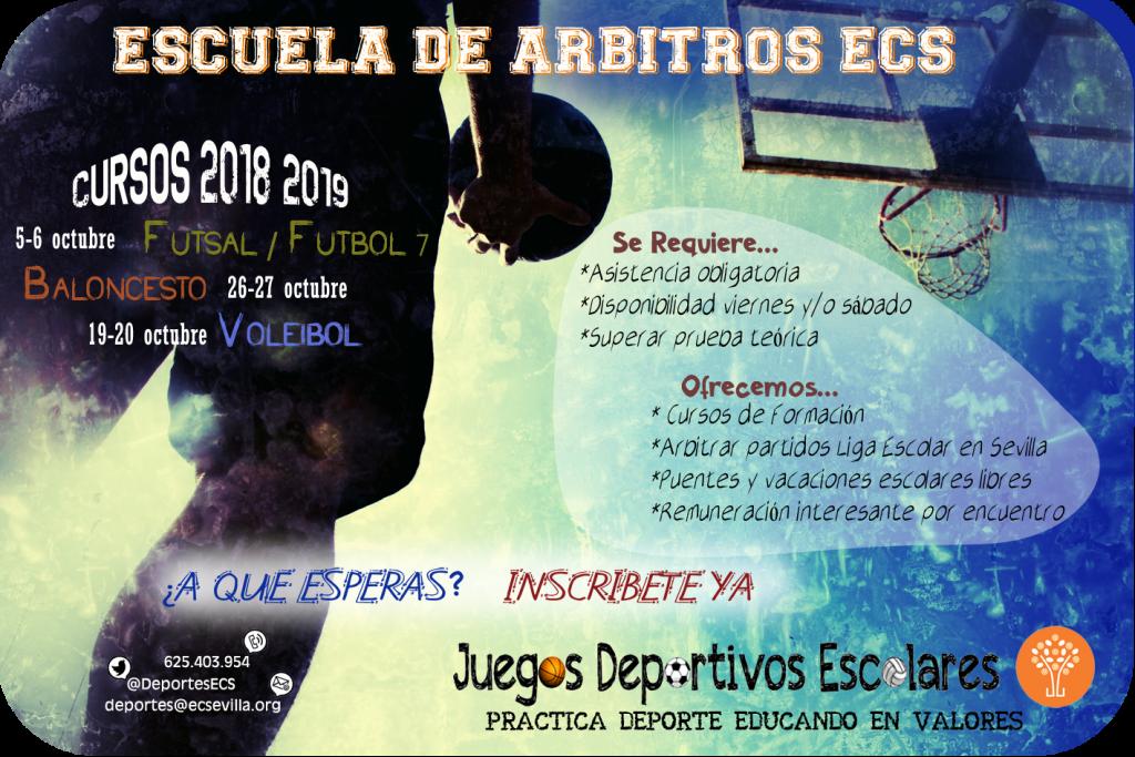 cartel árbitros 18-19